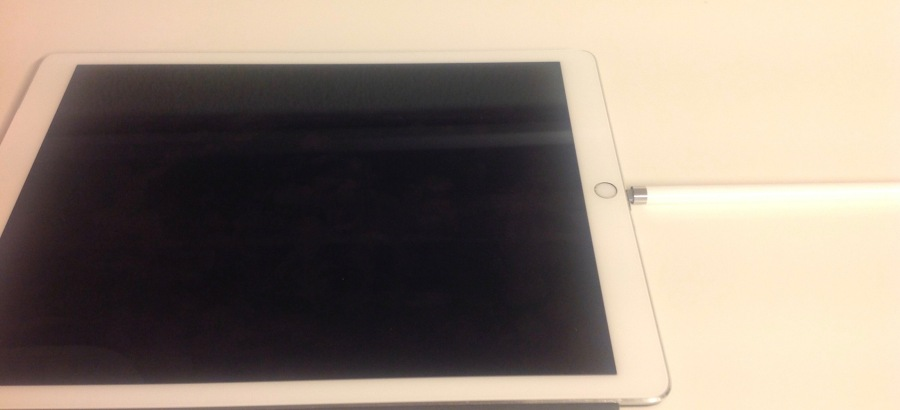 iPad Pro and apple pencil charging